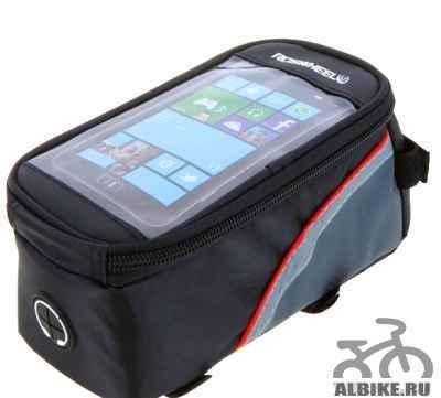 Велосипедная сумка чехол для телефона и GPS