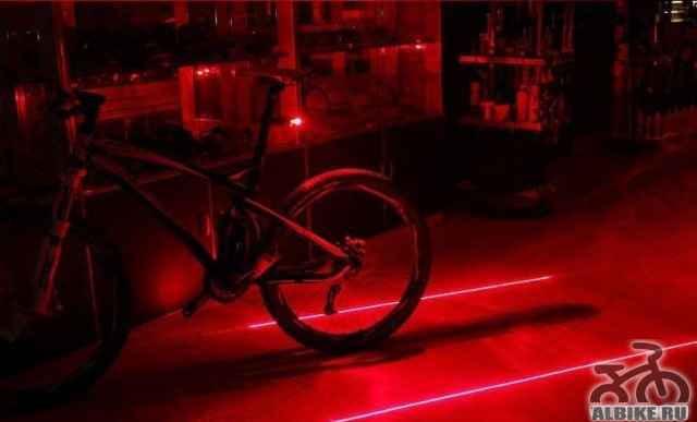 Задний велосипедный фонарь - Фото #1