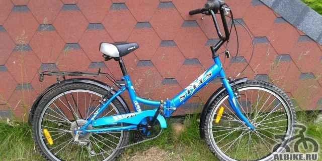 Велосипед Стелс Пилот 755 со складной рамой - Фото #1