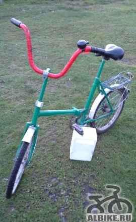 Продам б/у велосипед типа кама складной