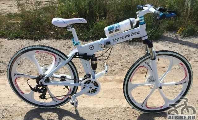 Стильный велосипед БМВ Дорого - Фото #1