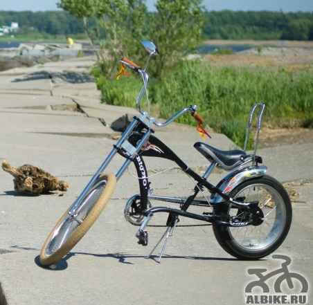 Велосипед чоппер Big Mo - Фото #1