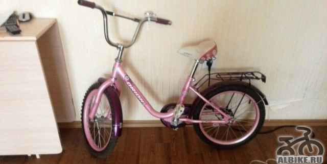 Велосипед Орион розовый - Фото #1