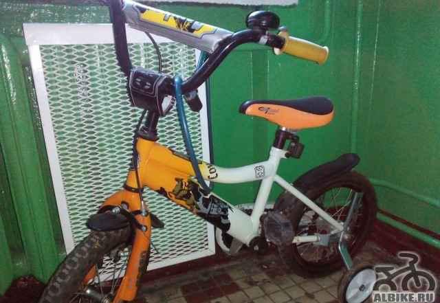 Велосипед+ классный самокат(в подарок.) - Фото #1