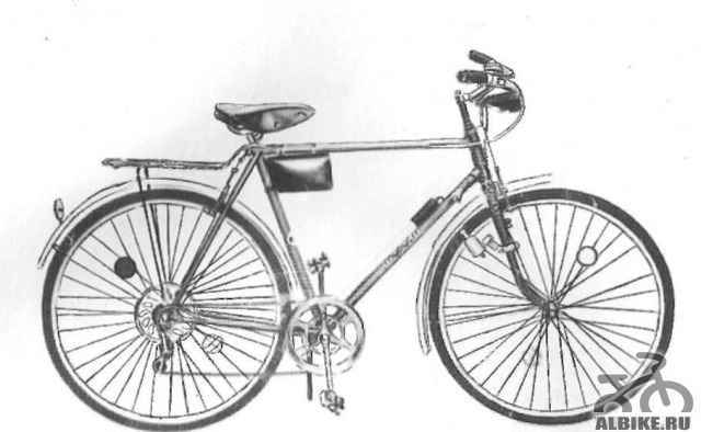 Продам велосипед Турист - Фото #1