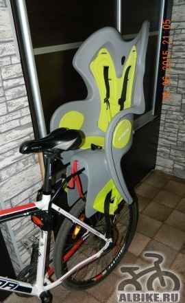 """Детское велокресло velo 500 B""""twin"""