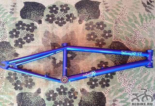 Рама BMX 20.5 WTP Colony Sect лимитед эдишн - Фото #1