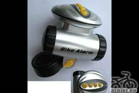 Велосигнализация байк alarm - Фото #1