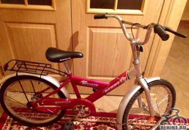 Велосипед benneto golden cycle - Фото #1