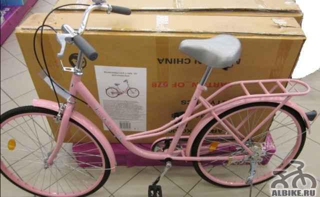 Взрослый дамский велосипед - Фото #1