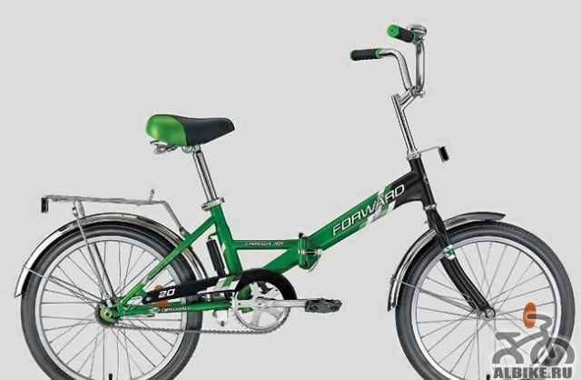Складной подростковый велосипед - Фото #1