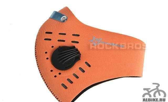 Велосипедная респираторная маска Rockbros - Фото #1