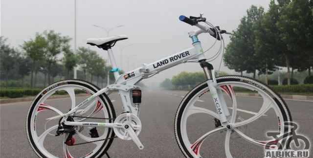 Ланд ровер. Фирменный велосипед для спорта