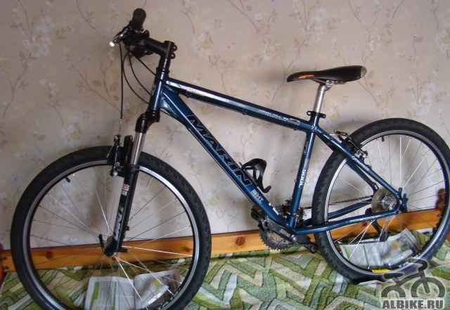 Велосипед на Deore и вилкой Rock Shox