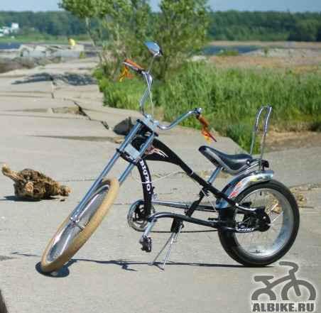 Велосипед Растабайк Чоппер BIG MO - Фото #1