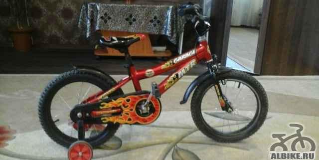 Продам детский велосипед на 5-6 лет - Фото #1