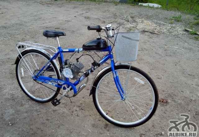 Велосипед Стэлс Навигатор 310 с мотором