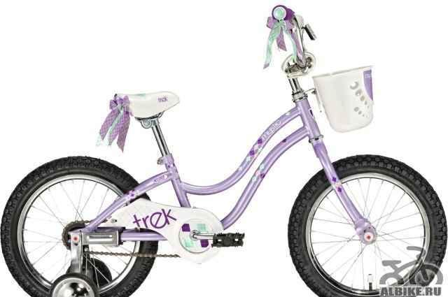 """Велосипед Трек Mystic """"16 для девочки на 3-6 лет"""