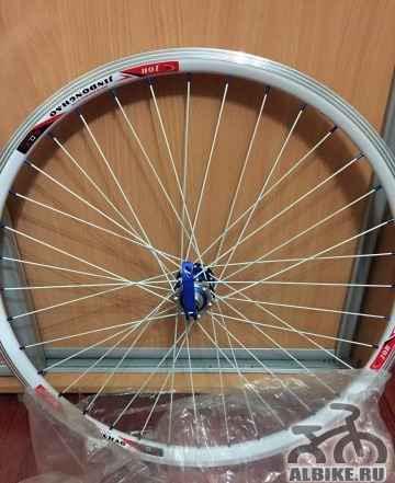 """Диски (2шт) для велосипеда 26"""" + покрышки слики - Фото #1"""