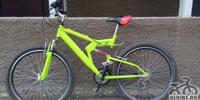 Велосипед Горный двухподвес - Фото #1