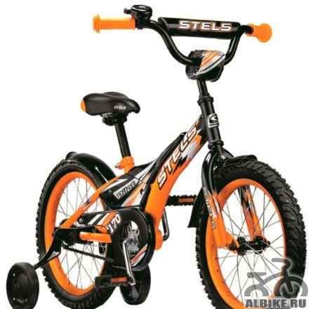 """Продам велосипед детский Стелс Пилот 170 16"""""""