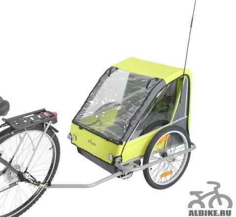 Велоприцеп на двух детей - Фото #1
