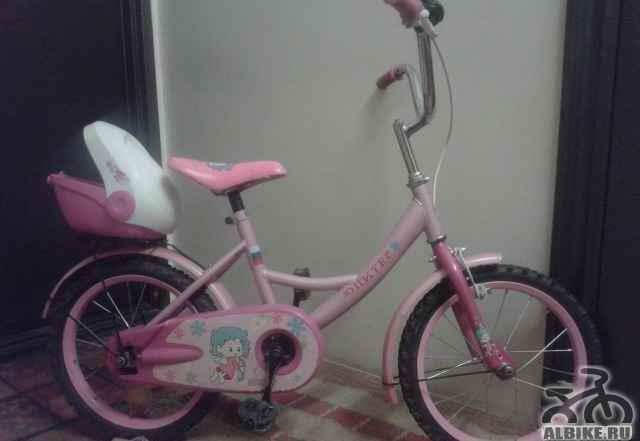 Велосипед от 5 до 8 лет розовый - Фото #1