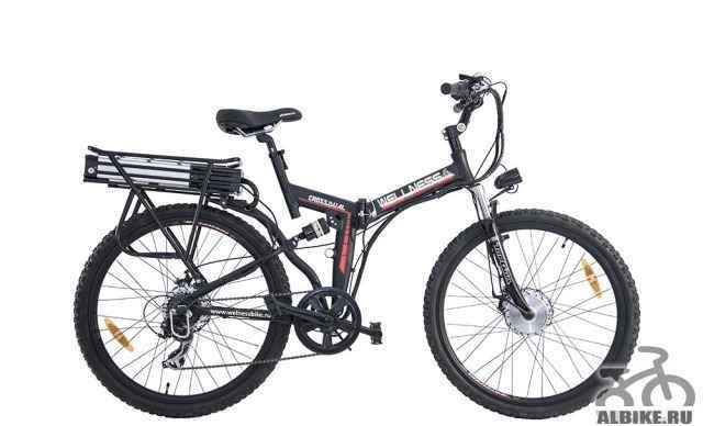 Электровелосипед Wellness Кросс Dual 1000 w Новый