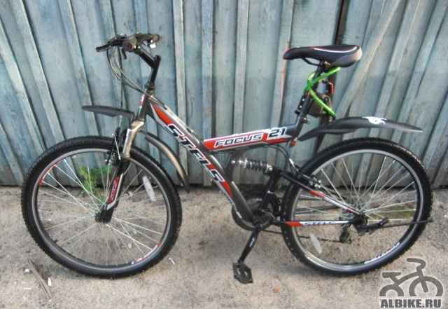 Велосипед стелс фокус 21 - Фото #1