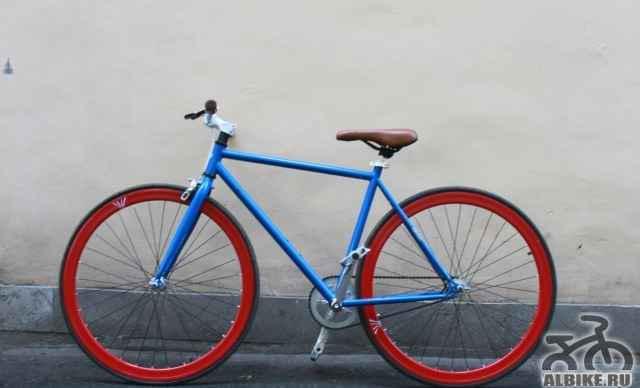Стильный необычный городской велосипед (фикс)