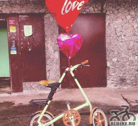 Велосипед strida складной оригинал