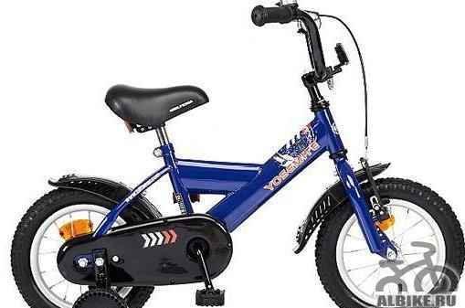 Art 271368 детский велосипед biltema с колесами 12