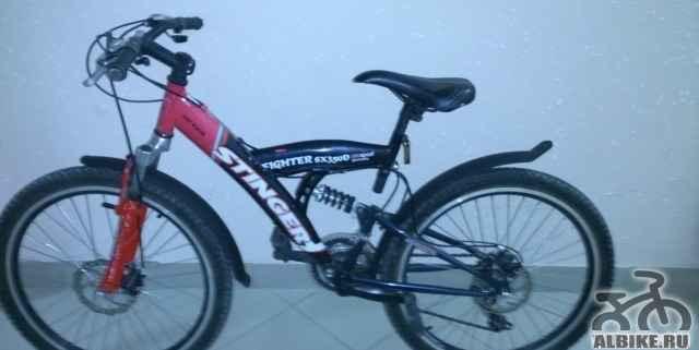 Б/у велосипед Стингер файтер sx 350D