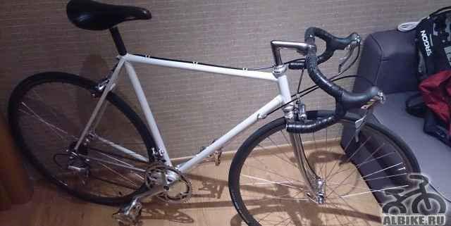 Шоссейный велосипед Mosconi на навеске Shimano 600 - Фото #1
