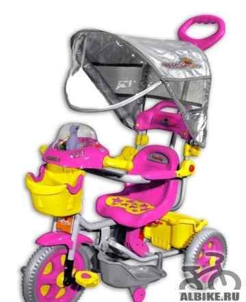 Велосипед трехколесный рич toys