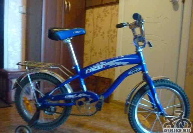 Детский велосипед 4 колёсный б/у - Фото #1