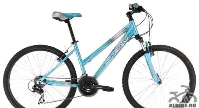 Велосипед stern Мира голубой