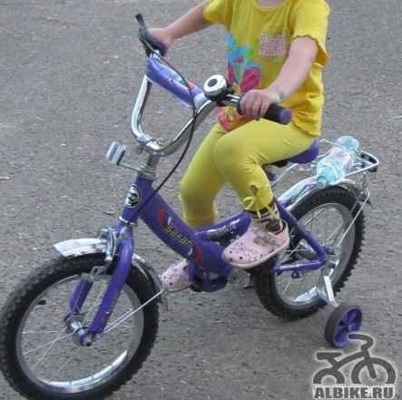 Велосипед на возраст 3-7лет - Фото #1