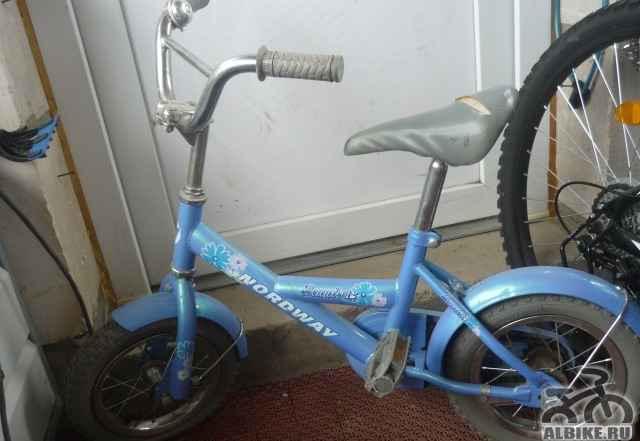 Велосипед для девочки детский б/у - Фото #1