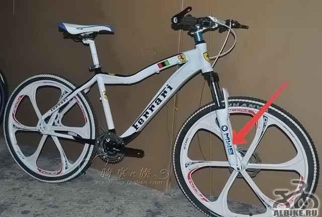 Горный велосипед феррари SE3 на литье - Фото #1