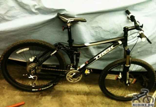 Велосипед Трек-Fuel-EX-6.5 горный, цв. черный