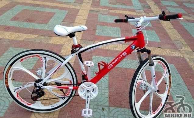 Велосипед БМВ литые диски (магниевый сплав)
