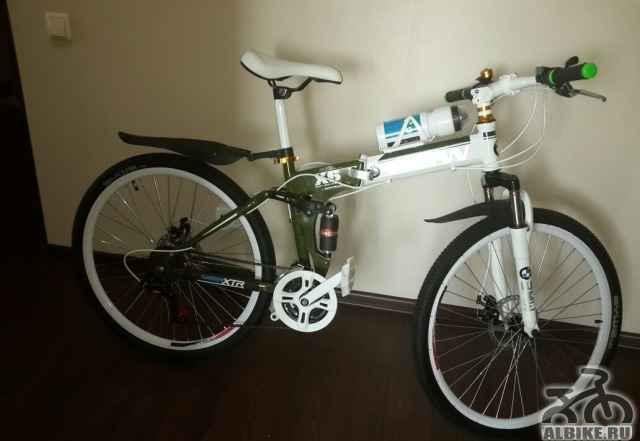 Складной горный велосипед БМВ X6 Двухподвес