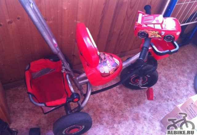 Детский трех колесный велосипед от 1.5 лет