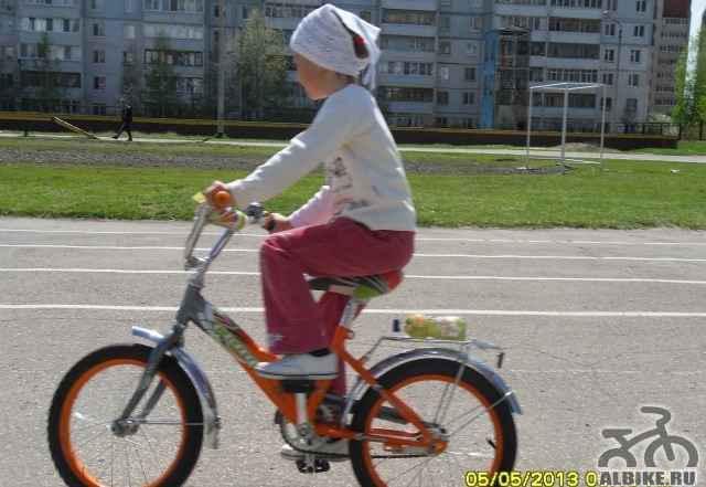 Татьяна велосипед