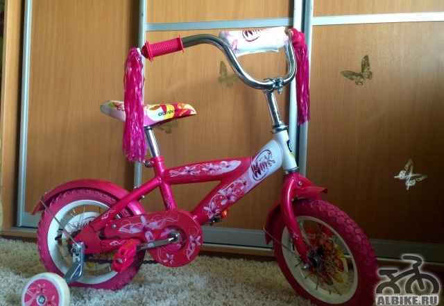 Детский велосипед winx 12 от 2 до 4 лет