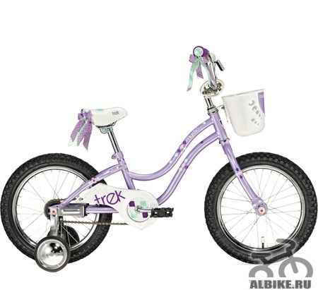 """Детский велосипед Трек Mystic 2012 г. в. (16"""")"""