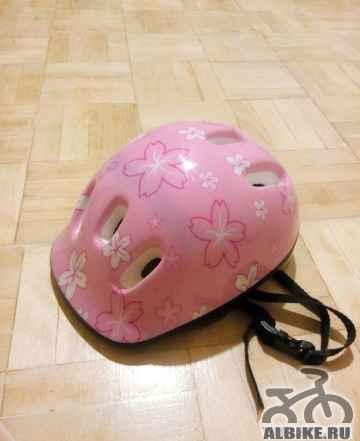 Женский велошлем