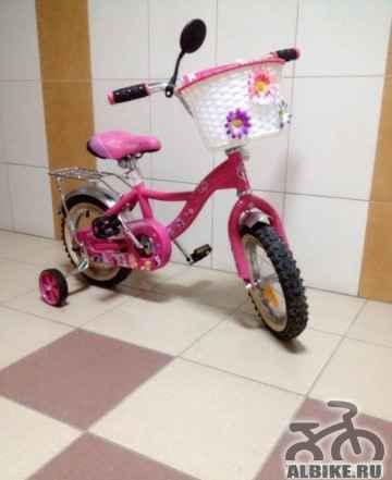 Велосипед практически новый my little пони