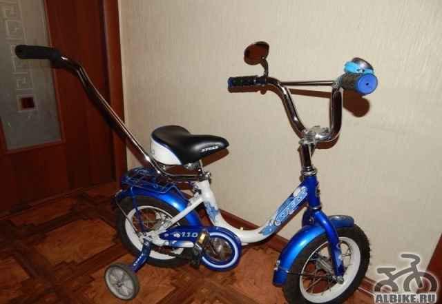 Велосипед детский 4х-колесный